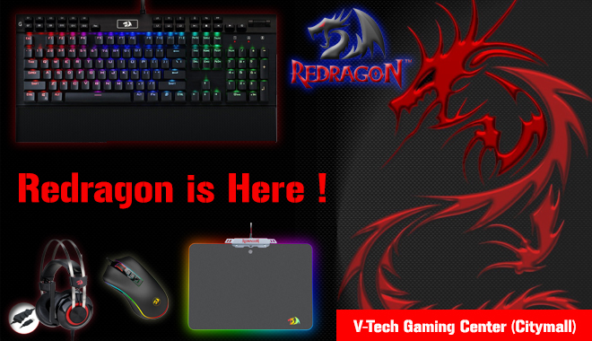 Redragon Available Now